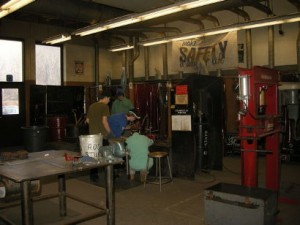 Student in Mr. Summer's class can receive welding certification upon completion of two year program.