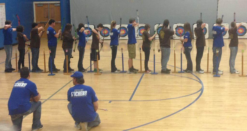 JM Archery Team Places Third