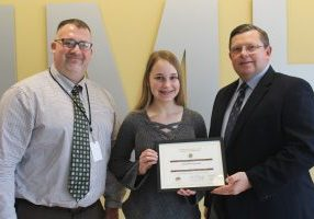 K of C March Student of the Month Carpenter