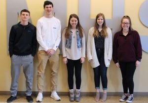 Alexa Johnson, Emily Wright, Whitney Coffield, Ryan Campbell and Adam Miller as an alternate are heading to the LifeSmarts Nationals in Orlando, Florida. LifeSmarts is a consumer education competition.