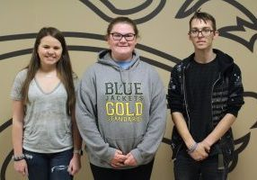 Three John Marshall High School Technology Student Association (TSA) representatives were able to place at the state level during the West Virginia TSA Conference.