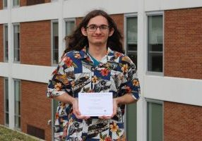 John Marshall High School senior Austin Williams has earned a spot among the distinguished National Merit Scholarship Finalists as a result of his combined scores in critical reading, mathematics and writing on the Preliminary SAT/National Merit Scholarship Qualifying Test.